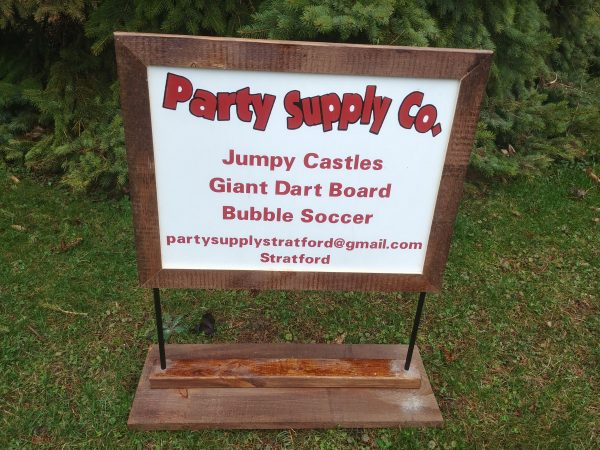 Party Supply Co Lawn Sign