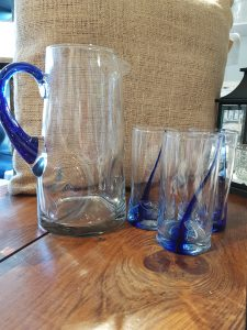 Pitcher and matching tumblers Party Supply Co. Rentals