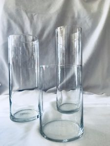 Table centerpieces glassware