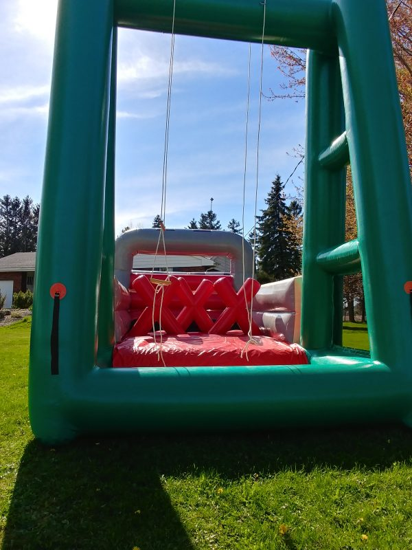 Inflatable Obstacle Drawbridge and pit