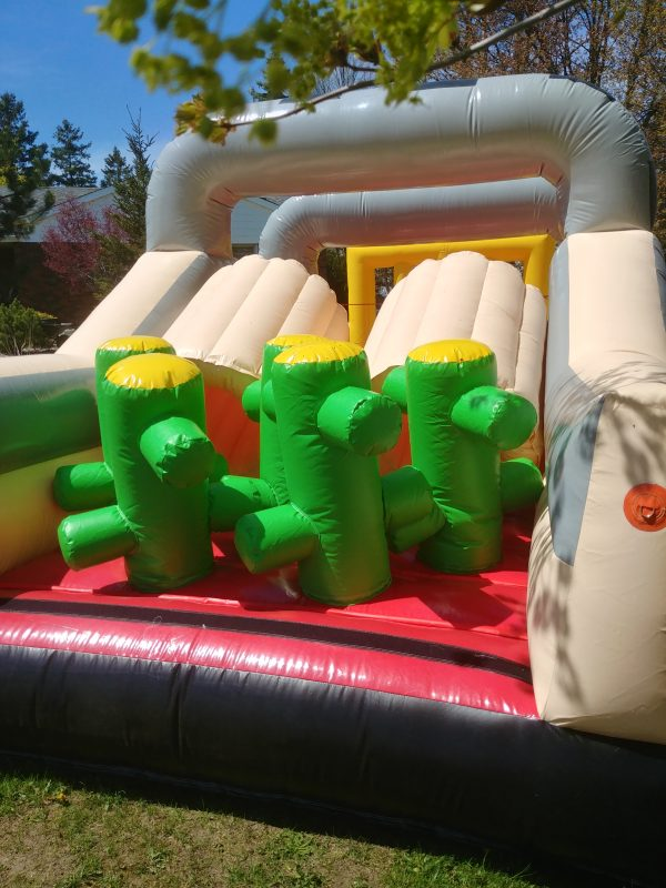Inflatable Obstacle Knights Quarters