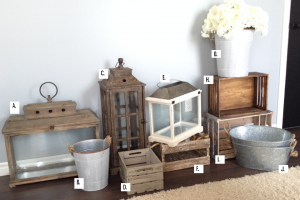 Assorted Rustic Items