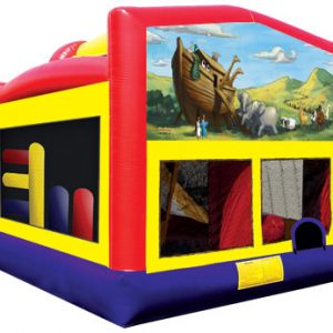 5 in1 Interactive Bounce House