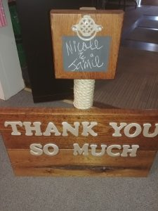Wedding Signage Rental