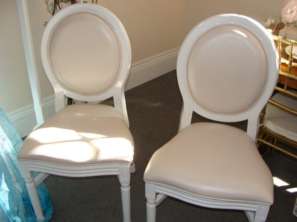 Rental Bride and Groom Chairs Party Supply Co