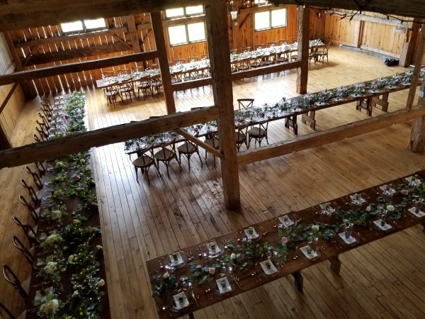 Party Supply Rental Harvest Tables