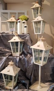 Lantern sizes rental Party Supply Co.