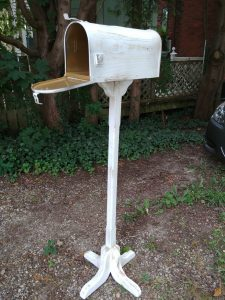Rustic Mail Box with stand