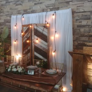 Backdrops and Arches