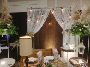 Backdrop and Arches
