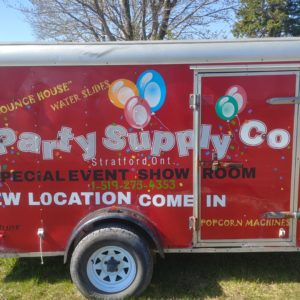 The NEW PARTY SUPPLY Co. & HOURS