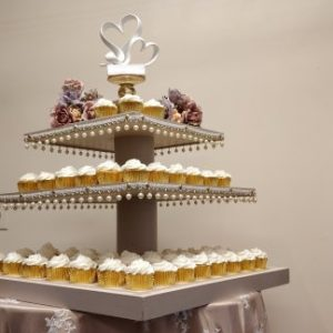 Donut or Cupcake Tower